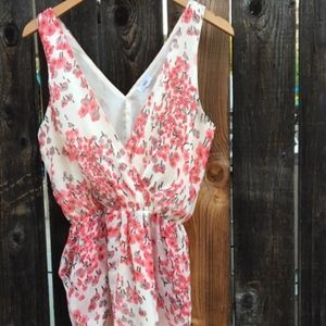 Lucca Couture Floral Romper.